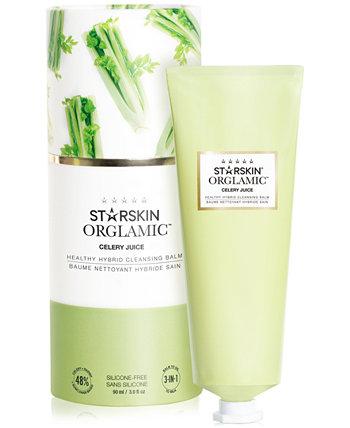 Здоровый гибридный очищающий бальзам Orglamic Celery Juice Healthy Hybrid Cleansing Balm STARSKIN