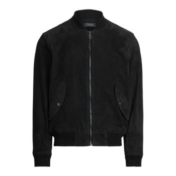 Замшевая куртка-бомбер Ralph Lauren