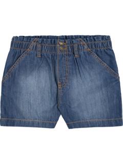 Pull-On Paperbag Waist Shorts (Big Kids) Hudson Kids