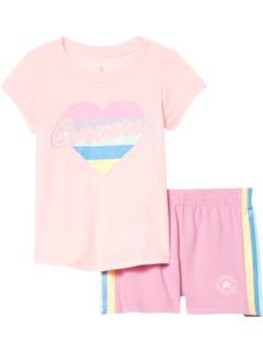 Набор футболок и шорт с рисунком (Маленькие дети) Converse Kids