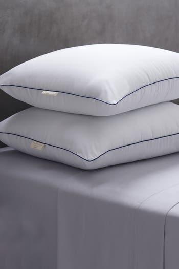 Атмосферостойкие винтажные домашние стандартные подушки из микрофибры Soft Touch, набор из 2 подушек CLIMAREST