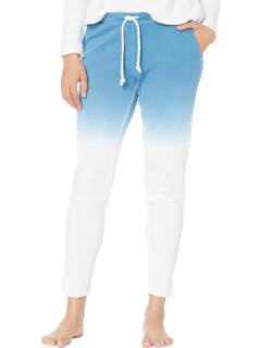 Льняные брюки-кюлоты French Terry с напуском и разрезом по бокам Chaser
