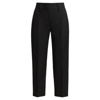 Легкие летние укороченные брюки Acne Studios