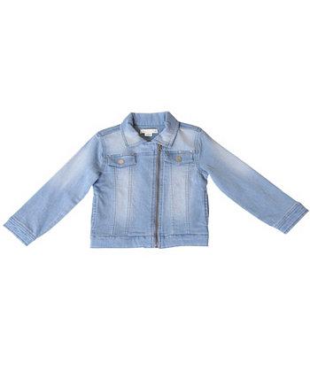Moto куртка для девочек Kinderkind