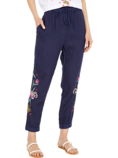 Jessica Linen Joggers Johnny Was