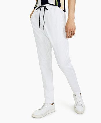 Мужские брюки-джоггеры из твила с заниженной талией Paisley & Gray
