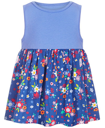 Baby Girls Cotton Floral Medley Tunic, Created for Macy's First Impressions