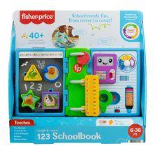 Обучающая игрушка для школьного учебника Fisher-Price Laugh & Learn 123 Fisher-Price