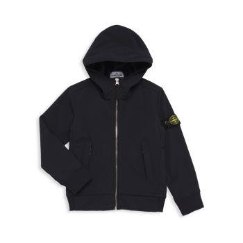 Куртка для маленьких мальчиков и мальчиков с капюшоном Stone Island