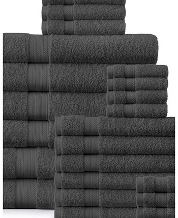 Набор плюшевых полотенец - 24 шт. Addy Home Fashions