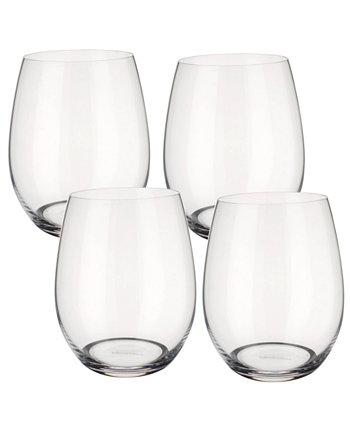 Entrée Double Old Fashioned или белое вино без стебля, набор из 4 шт. Villeroy & Boch