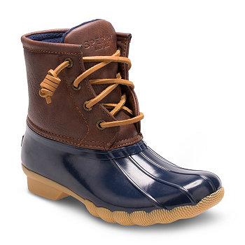 Ботинки для маленьких и больших мальчиков и девочек с морской водой Sperry