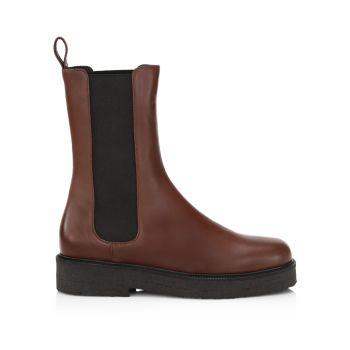 Кожаные ботинки челси-паламино STAUD