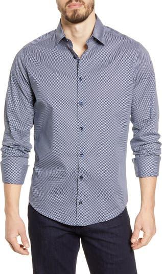 Рубашка на пуговицах с точечным принтом Stone Rose