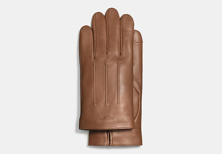 Кожаные перчатки COACH