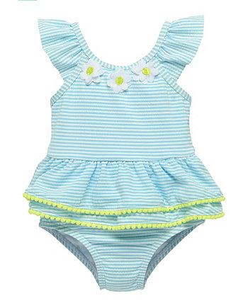 Купальный костюм Seersucker для девочек от малышей Wetsuit Club