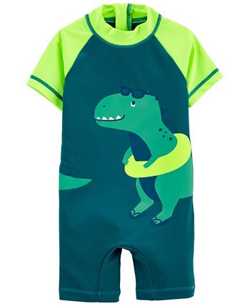 Рашгард-динозавр для мальчика Carter's