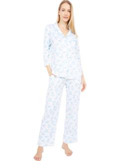 Пижамный комплект для подруги All The Raj с рукавами 3/4 Karen Neuburger