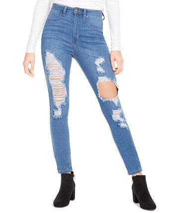Рваные джинсы скинни с высокой посадкой Aphrodite