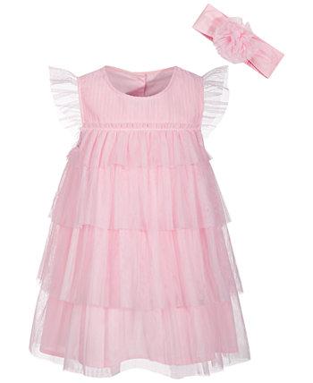 Эффектное платье для маленьких девочек, созданное для Macy's First Impressions