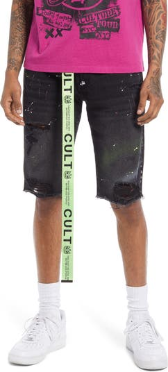 Belted Rocker Shorts Cult Of Individuality