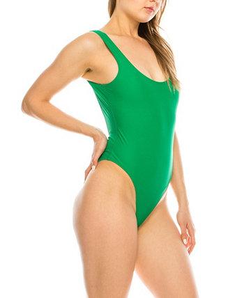 Сплошной купальник с низким вырезом на спине KENDALL + KYLIE