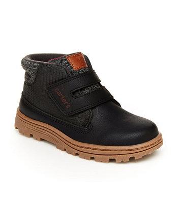 Модные ботинки для маленьких мальчиков Carter's