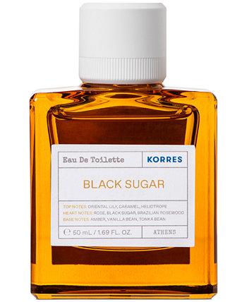 Туалетная вода Black Sugar, 50 мл KORRES