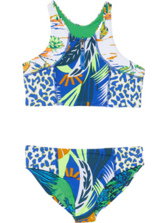 Blue Lagoon Basket Bikini Set (Little Kids/Big Kids) Maaji Kids