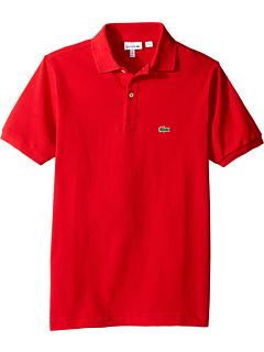 L1812 Классическая футболка-поло из пике с короткими рукавами (для малышей / маленьких детей / старших детей) Lacoste Kids