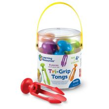 Learning Resources Tri-Grip Tongs Learning Resources