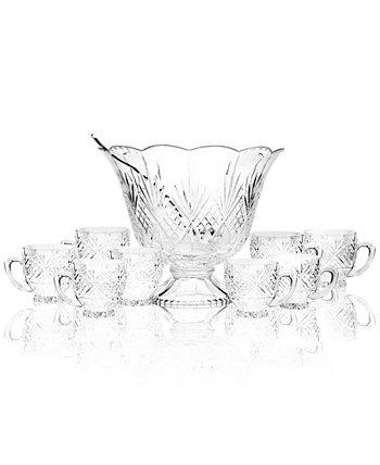 Питьевая посуда, набор Dublin Punch Bowl, 10 предм. Godinger
