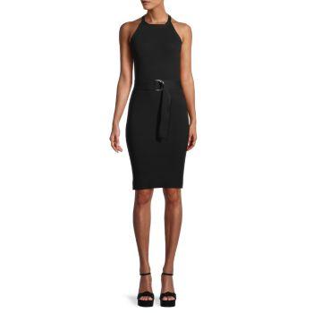 Приталенное платье без рукавов 525 America