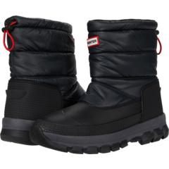 Оригинальные утепленные зимние ботинки короткие Hunter