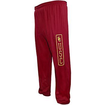 Men's Majestic Cardinal USC Trojans Big & Tall Wake Up Pants Unbranded