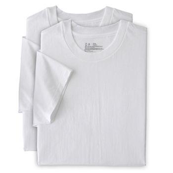 Комплект из 4 футболок с круглым вырезом Big & Tall Hanes® Classics Hanes