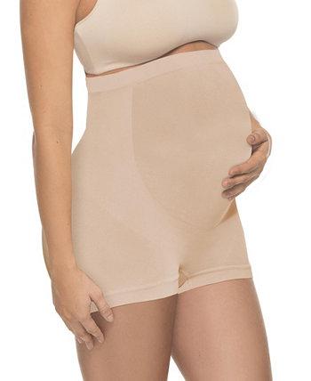 Женские мягкие бесшовные шорты для беременных с полным кроем Annette