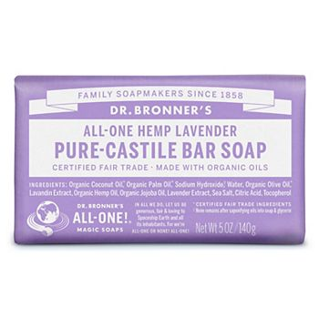 Dr. Bronner's Castille Bar Soap - Lavender Dr. Bronner's
