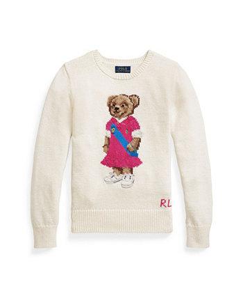 Свитер Polo Bear для больших девочек Ralph Lauren