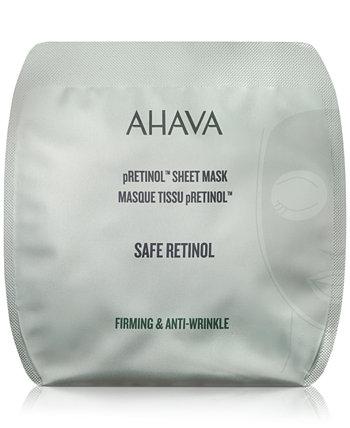 Листовая маска pRetinol, 0,54 унции. AHAVA