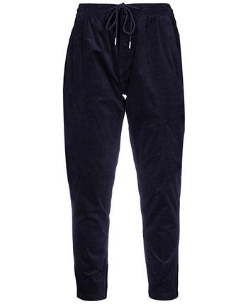 Men's Slim-Fit Chester Drawstring Pants Paisley & Gray