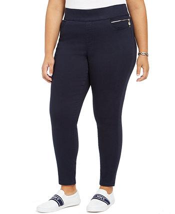 Сатиновые брюки большого размера Gramercy до щиколотки, созданные для Macy's Tommy Hilfiger