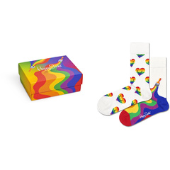 2-Pack Pride Socks Gift Set Happy Socks