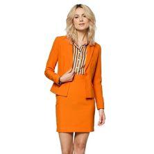 Женский комплект с однотонной курткой и юбкой OppoSuits OppoSuits