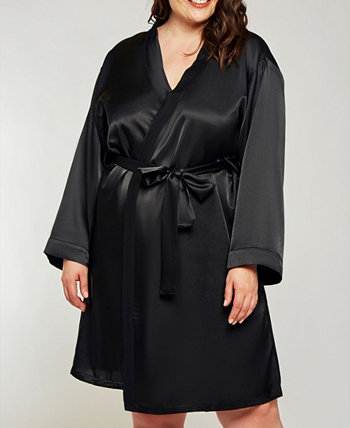 Ультрамягкий атласный женский халат для отдыха и у бассейна ICollection