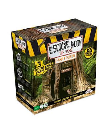 Escape Room The Game Family Edition с 3 захватывающими квестами в джунглях Identity Games