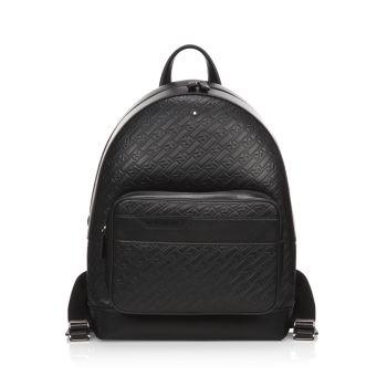 Кожаный рюкзак с монограммой и логотипом Montblanc