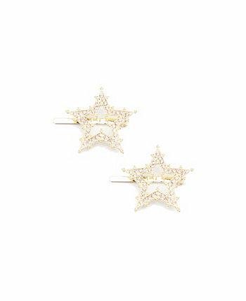 Женский набор с магнитными заколками Star, 2 шт. В упаковке Soho Style