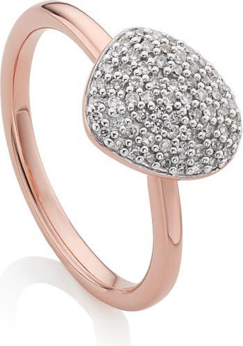 Кольцо для укладки мелких камешков Nura MONICA VINADER