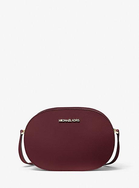 Jet Set Travel Medium Saffiano Leather Crossbody Bag Michael Kors